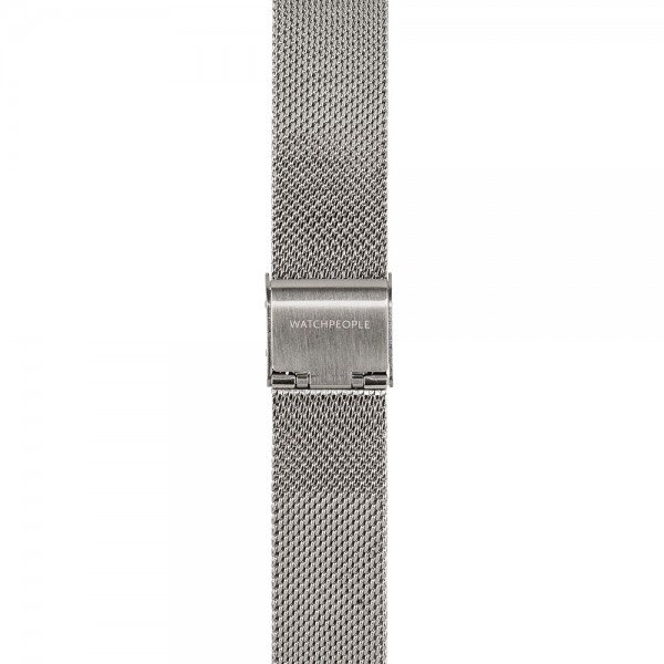 Metallband silber - 16 mm