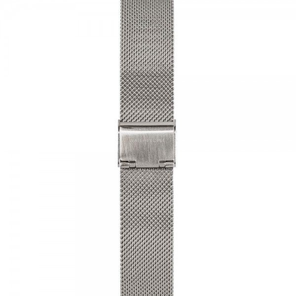 Metallband silber - 18 mm