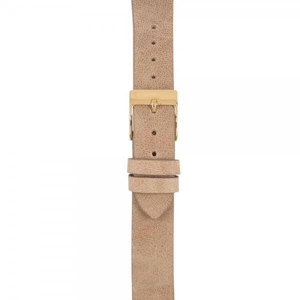 Lederband Nature sand - 16 mm