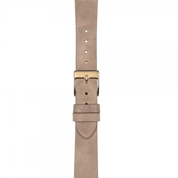 Lederband Nature beige - 16 mm